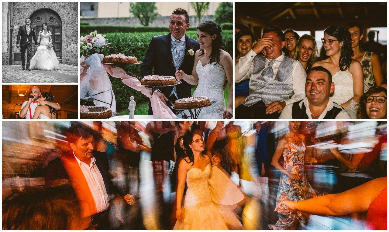 Matrimonio Hotel Sassella Grosio: la passeggiata degli sposi e la festa