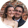 Caterina e Stefano sposi