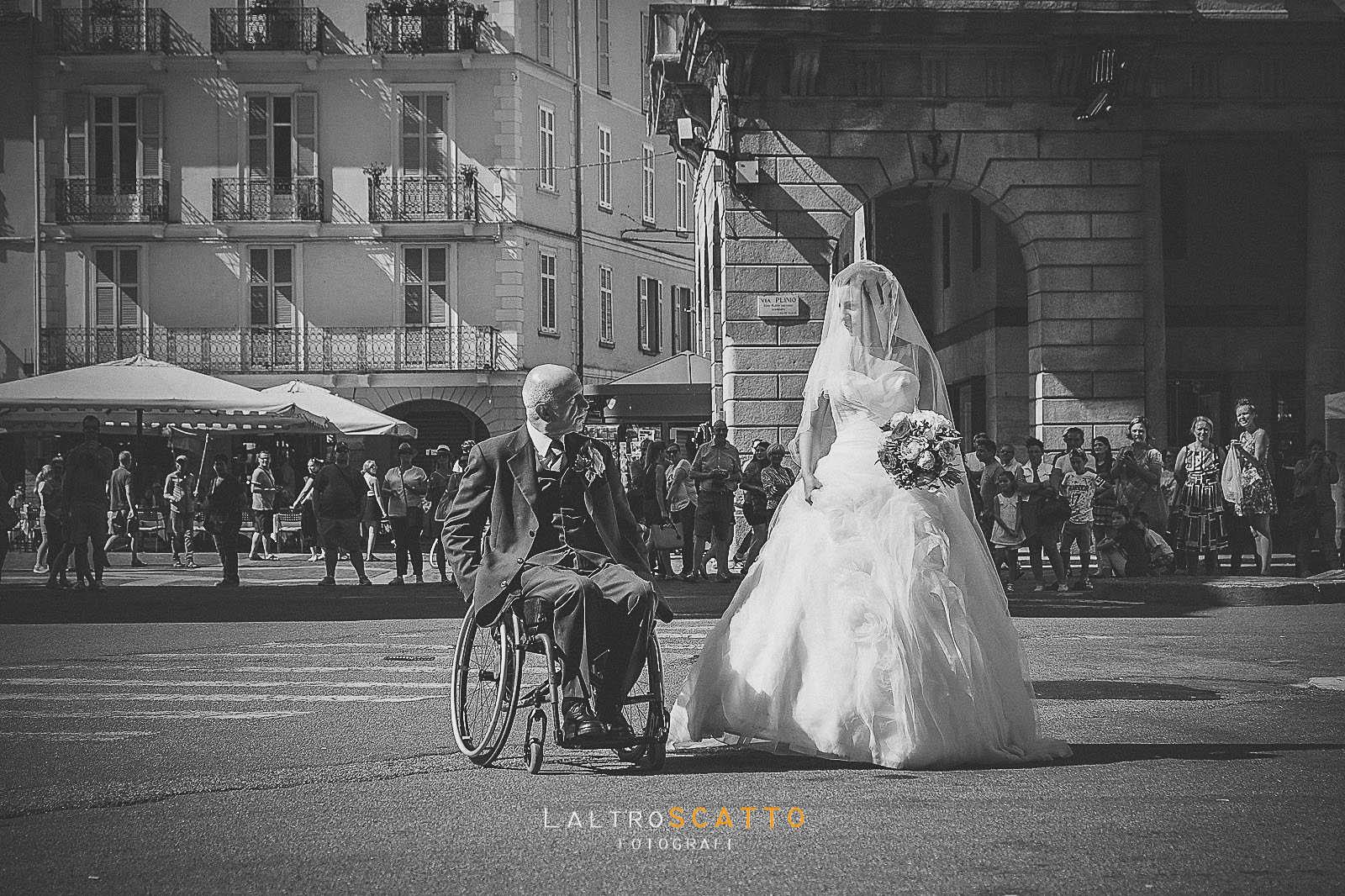 foto di matrimonio- il padre della sposa