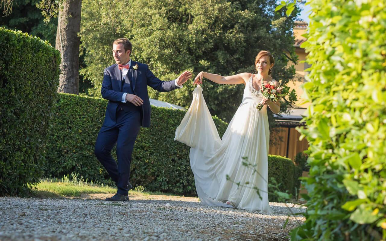 Fotografo matrimonio Milano prezzi: sposi in festa