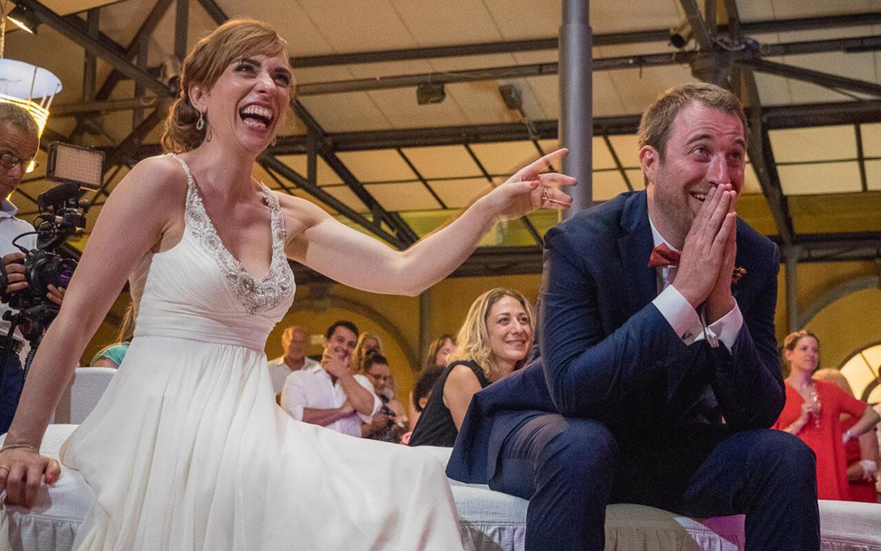 Fotografo matrimoni Milano: gli sposi in festa