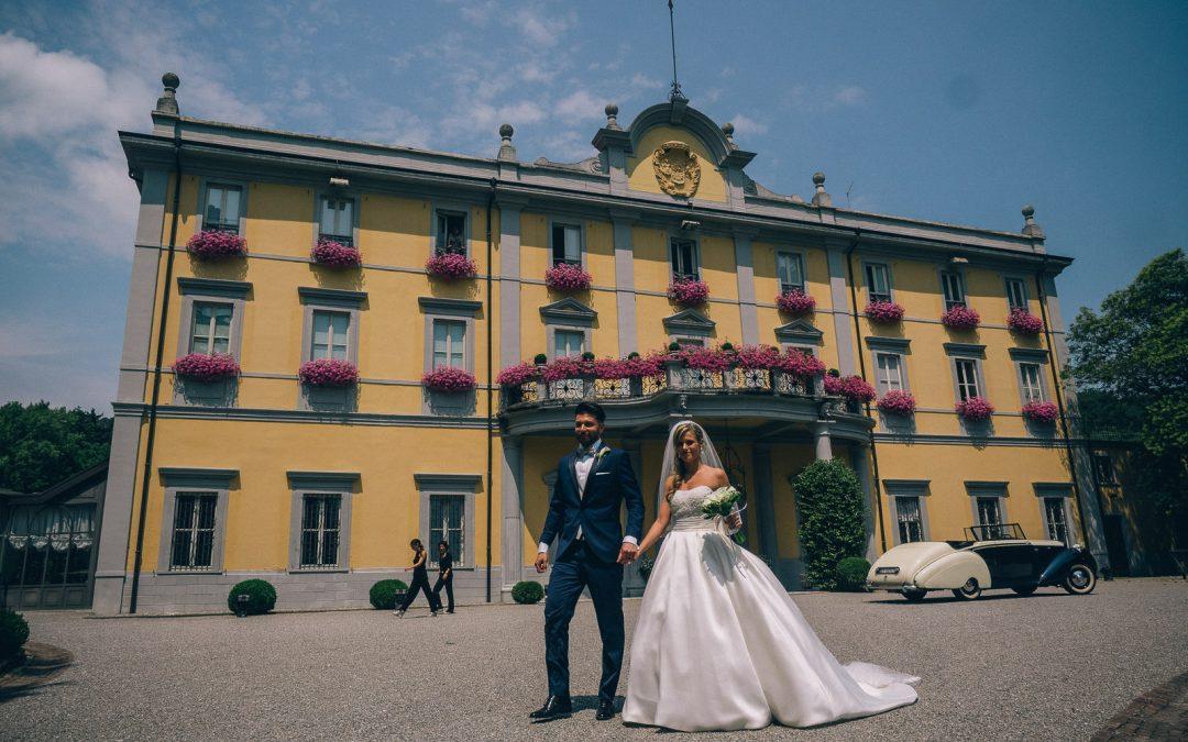 matrimonio Villa Acquaroli, Gaia e Massimiliano