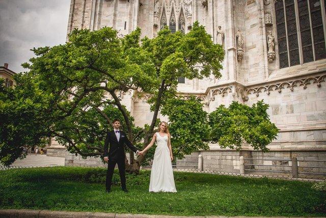 Fotografo matrimonio Milano: Duomo di Milano