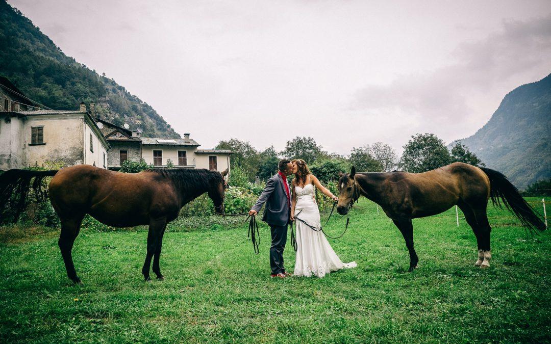 Matrimonio Gazebo Jim a Grosio, Cristian e Valeria
