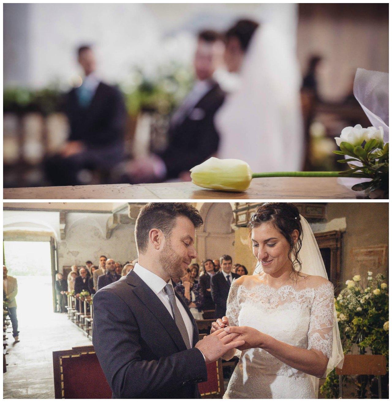 matrimonio a Tirano: gli sposi e la promessa