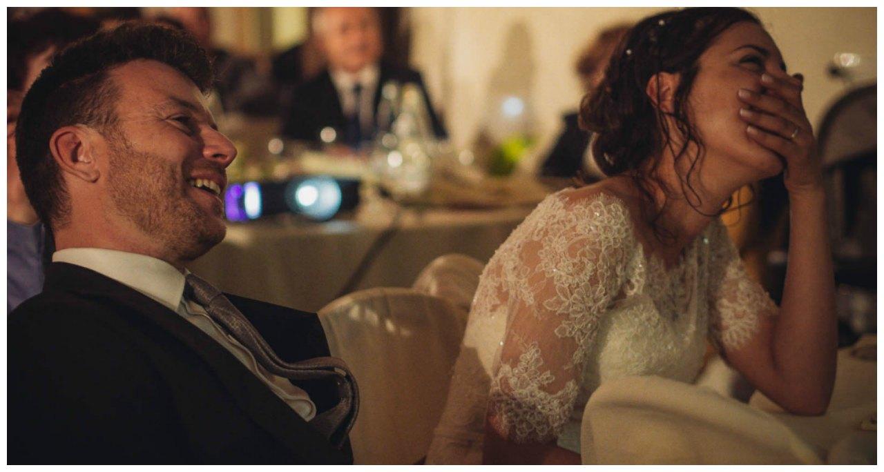 matrimonio a Tirano: gli sposi in festa