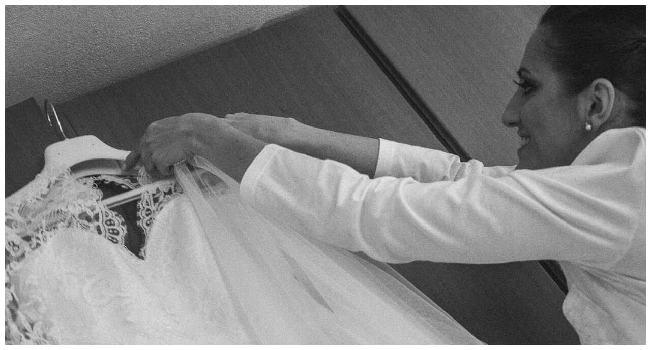 matrimonio a Bergamo: la sposa e il suo abito