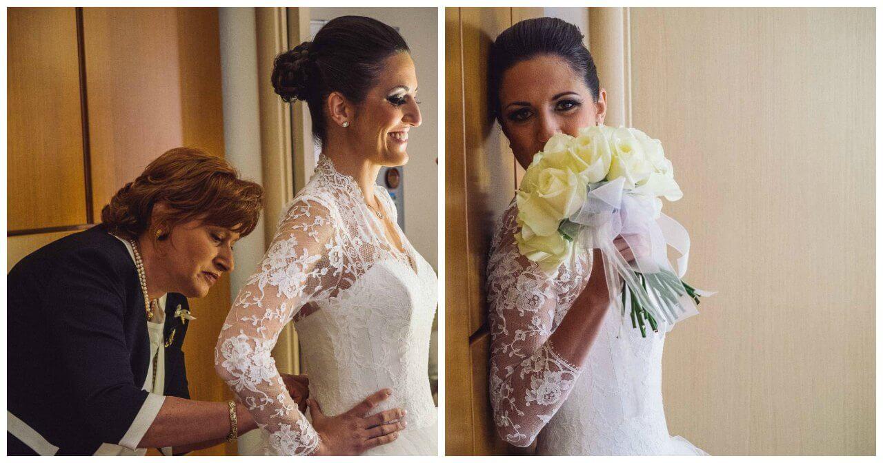 matrimonio a Bergamo: preparazione e dettagli della sposa