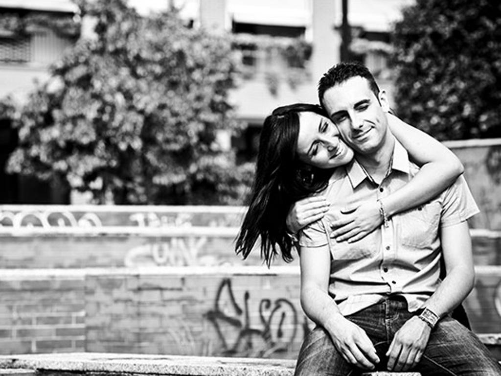 engagement milano, Gerardina e Domenico