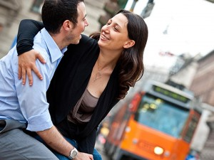 engagement milano, Samantha e Fausto