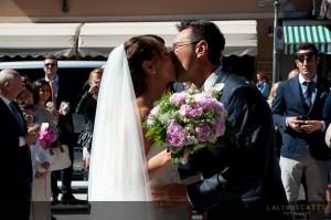 esempio album di matrimonio di Laura e Tiziano
