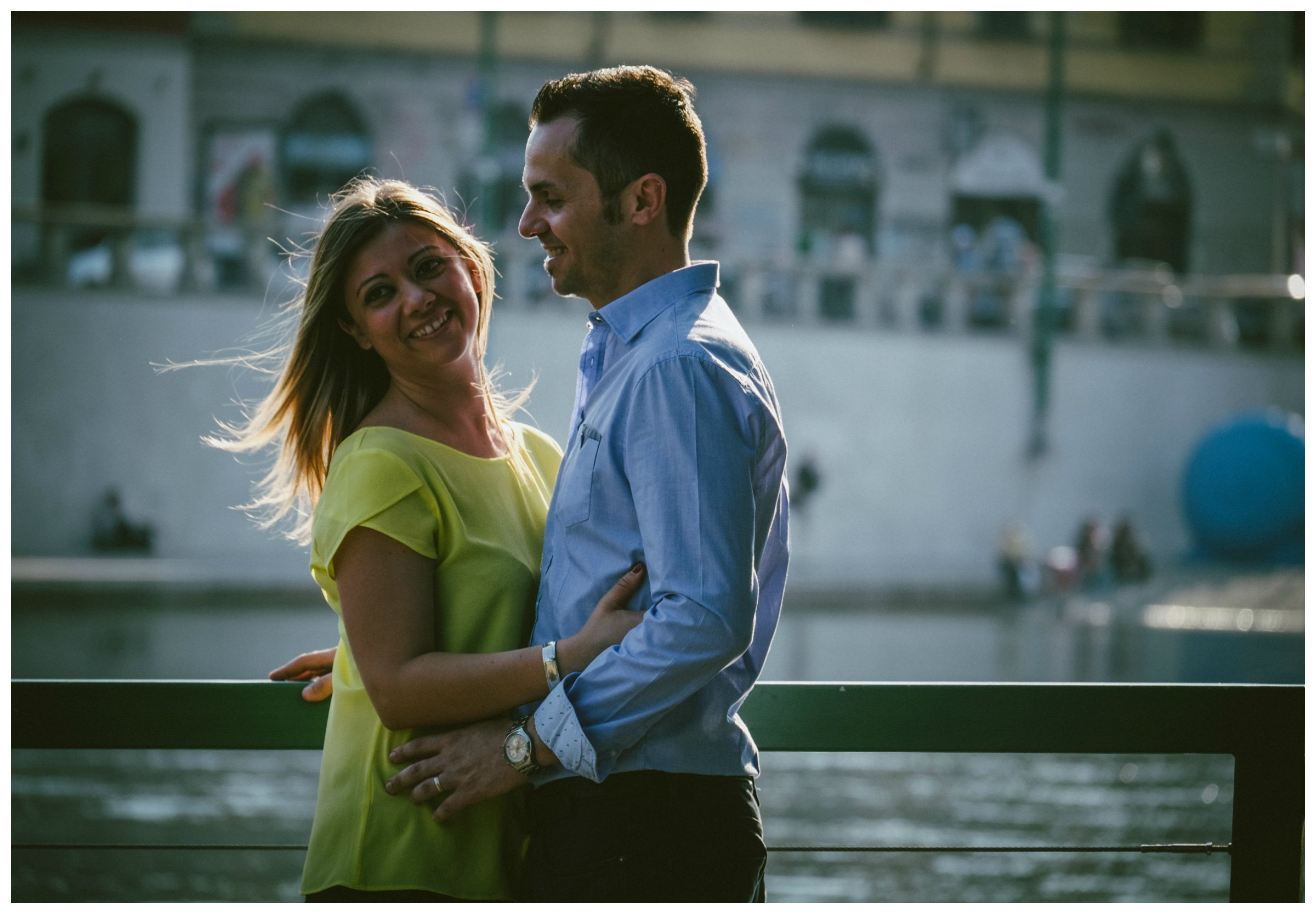 engagement session milano darsena, Marialuisa e Davide