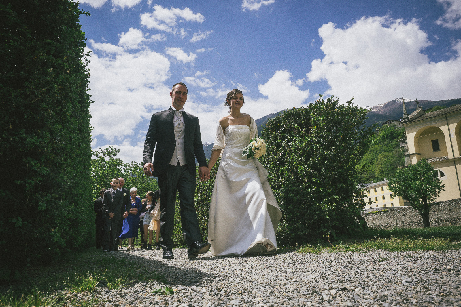matrimonio a Grosio, Elisabetta e Fabio