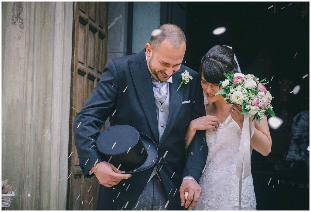 matrimonio cascina caremma: lancio del riso