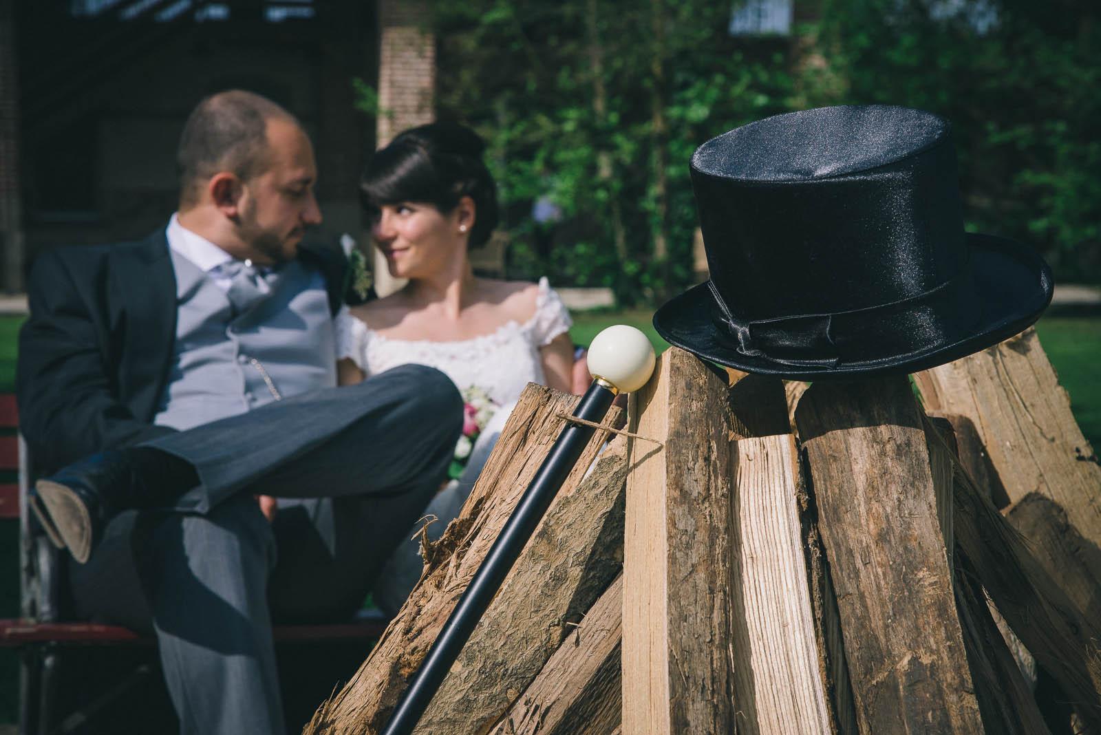 matrimonio a cascina caremma, Elisa e Thierry