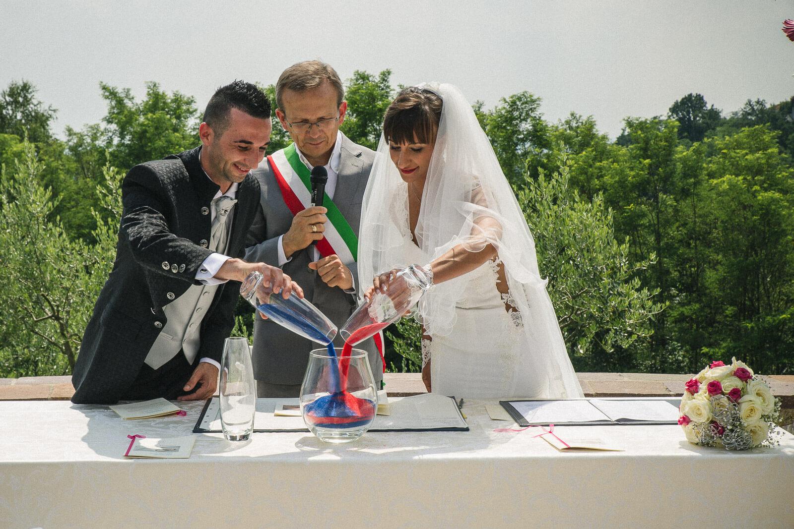 Matrimonio Tenuta Colle Piajo, Veronica e Ciprian