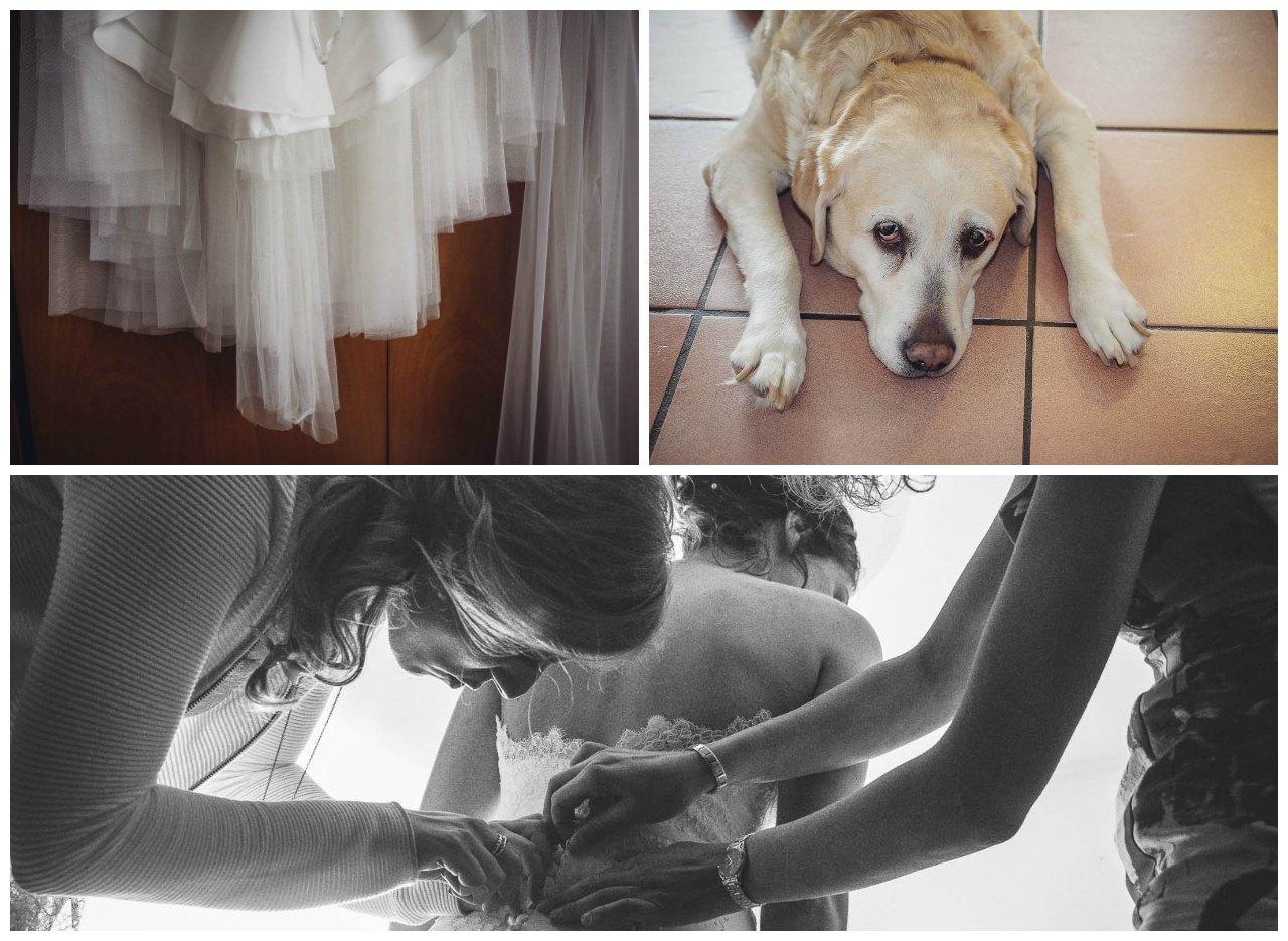matrimonio a Tirano: preparazione della sposa