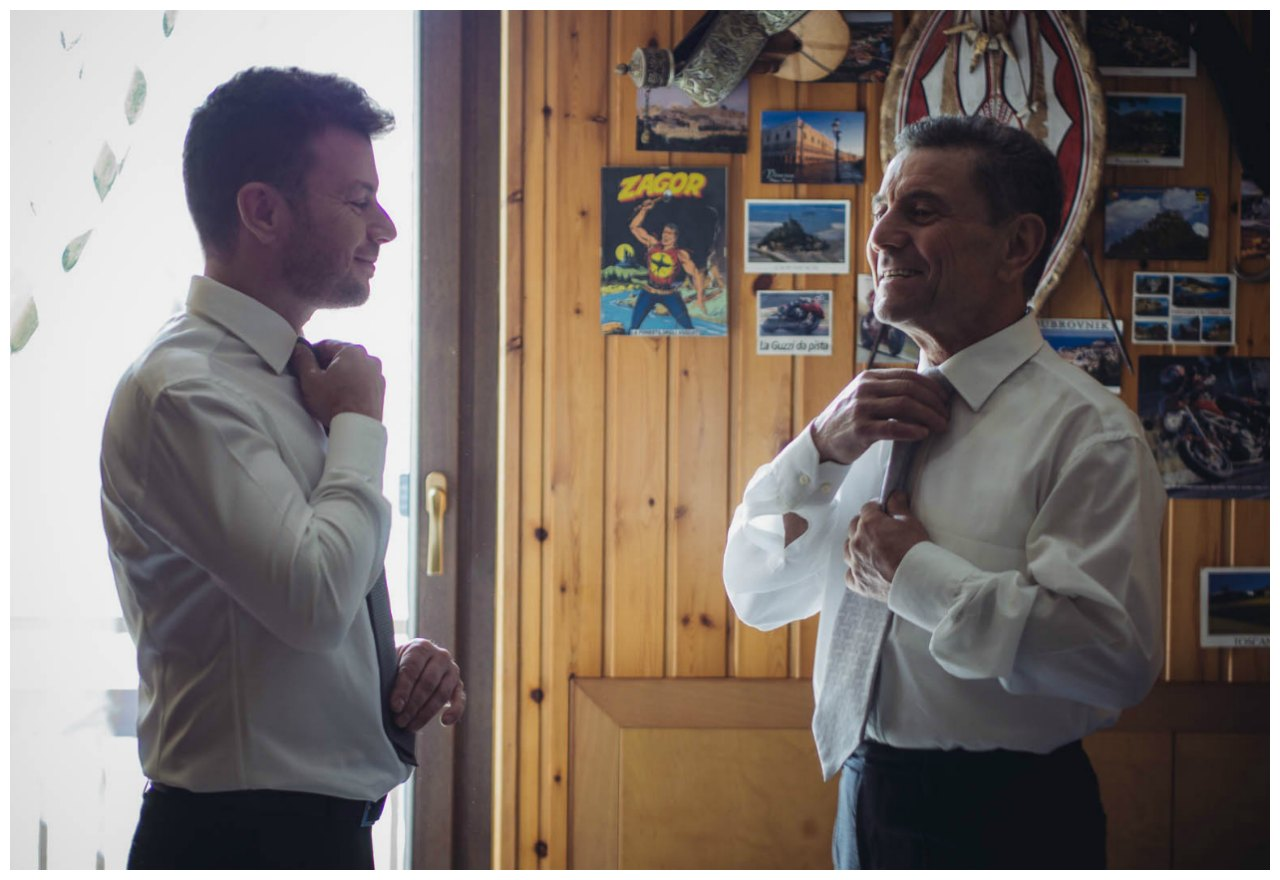 Matrimonio a Tirano: preparazione dello sposo