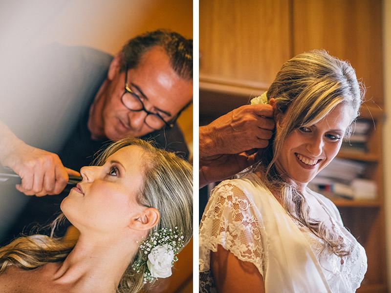 acconciature sposa: la preparazione