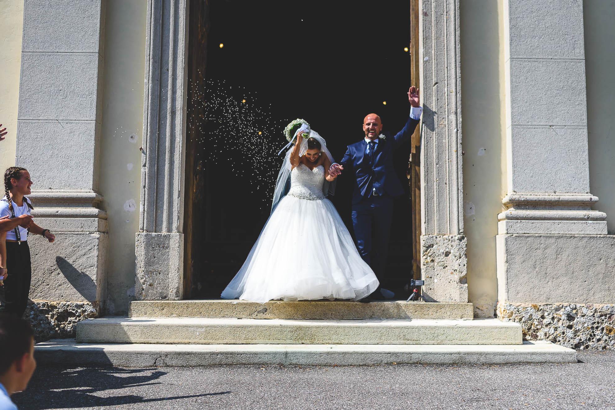 Il matrimonio al Castello di Pagazzano, Manuela e Luca
