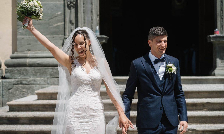 foto di matrimonio al tempo del coronavirus